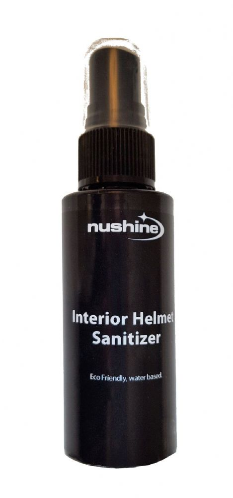 Nushine Interior Helmet Sanitiser Cleaner 50ml Ecofriendly, Water Based and Solvent Free formula